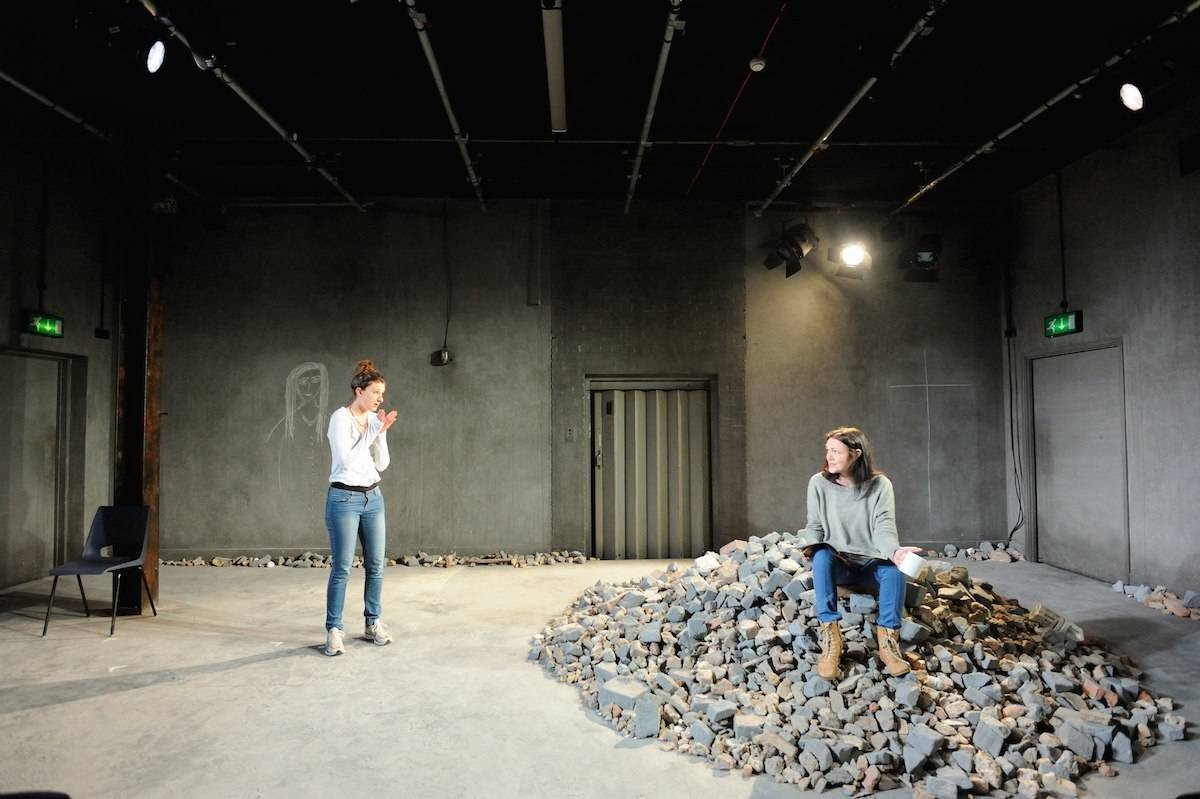 Flustered at the Southwark Playhouse 2014 | SALT theatre 'Write at the Heart'
