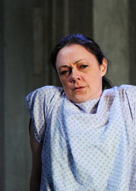 Gill KirkPatrick in Flustered | Southwark Playhouse 2014